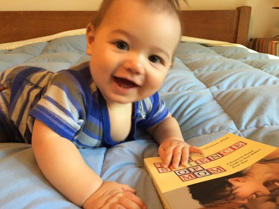 Shameless use of cute baby to promote book.
